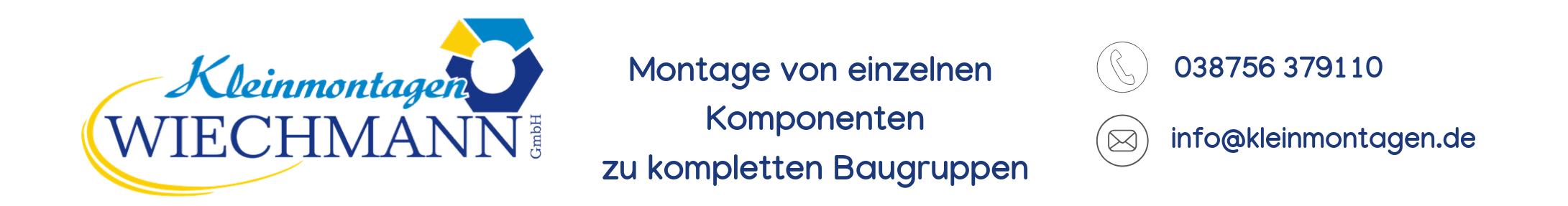 Kleinmontagen WIECHMANN GmbH in Grabow Logo